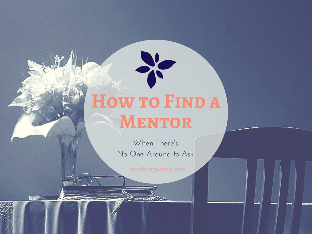 How to Find a Mentor When There's No One Around to Ask