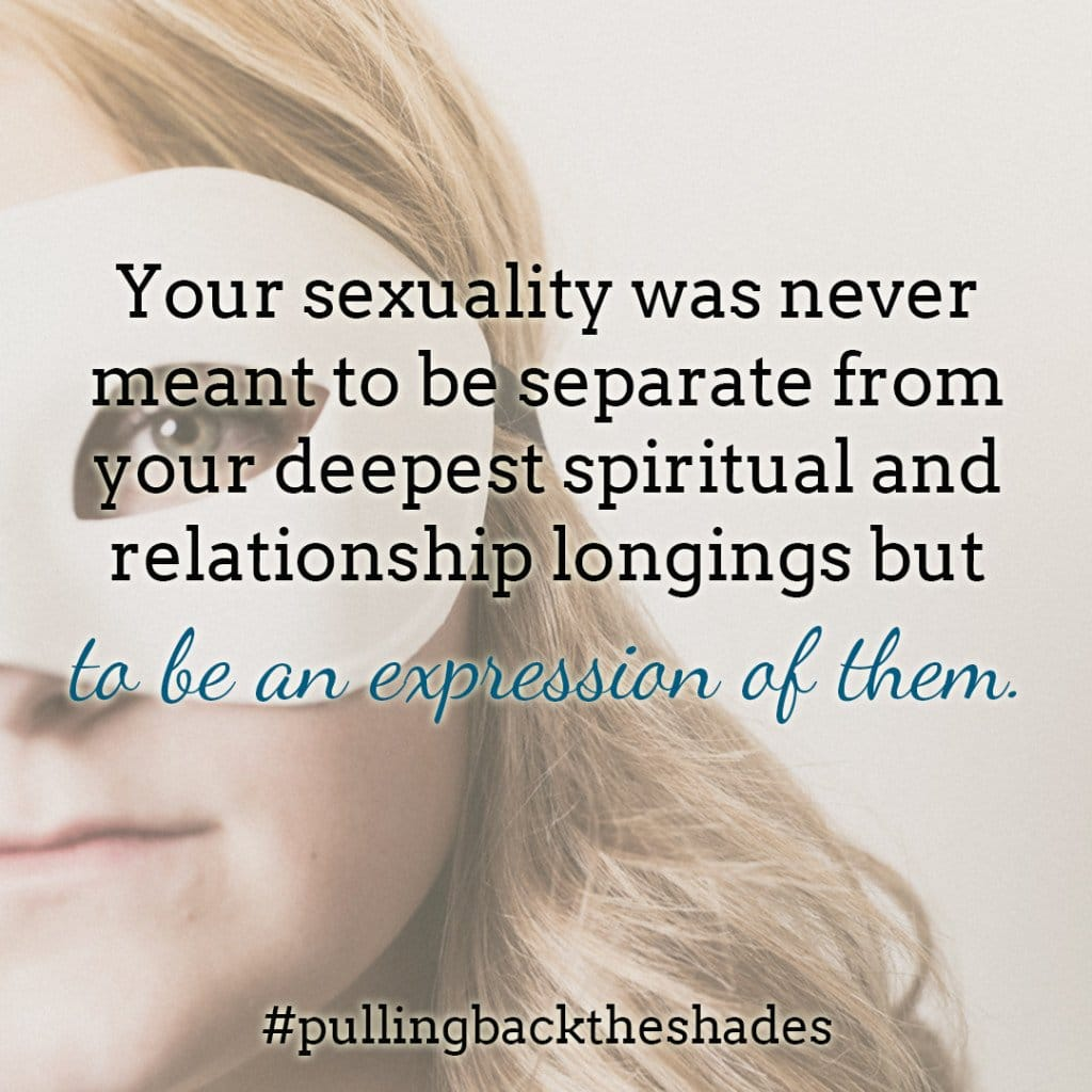 sex is an expression of spiritual longings