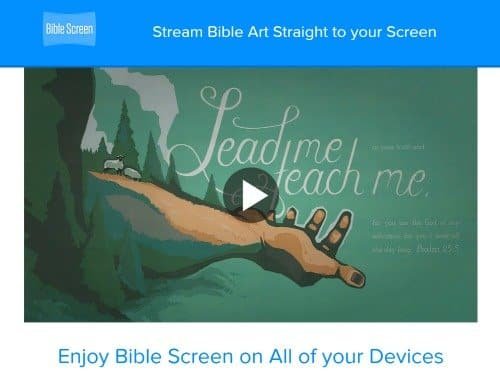 bible verse of the day bible screen