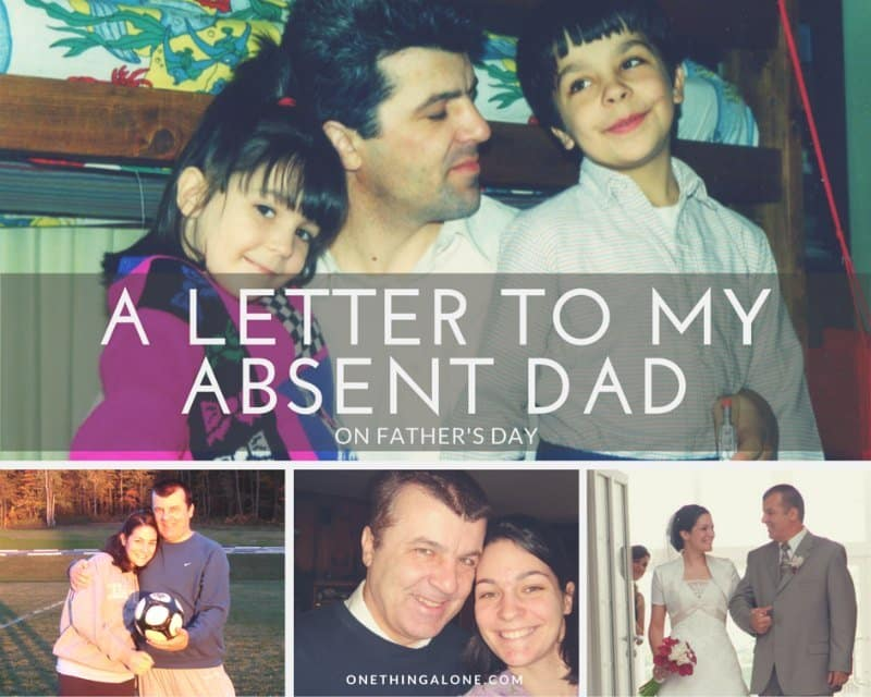 A Letter to My Absent Dad